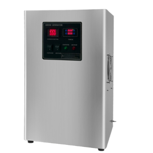 Generatore di Ozono DPA-10G, Sanificatore per Medi ambienti | fino a 200 m3/ora | Aria e Acqua | Rilascio Ozono 10 G/ora, Timer programmabile 900 ore | Certificazione CE, RoHS