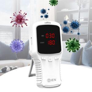 DPZ-3919 Générateur d'ozone, désinfectant pour voitures, objets et petits environnements | jusqu'à 2 m3 / heure, minuterie de 2 heures | Portable avec batterie rechargeable | Certification CE, RoHS