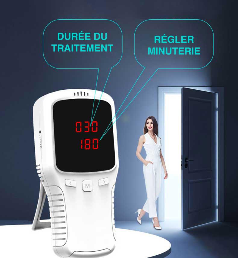 générateur d'ozone portatif